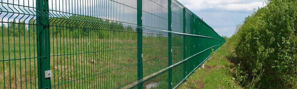 Особенности и основные характеристики заборных сеток